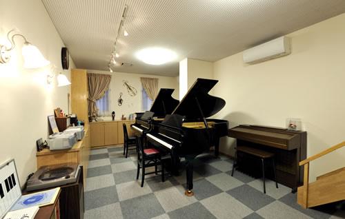野澤音楽教室のレッスンルーム1