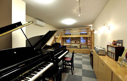 野澤音楽教室のレッスンルーム2
